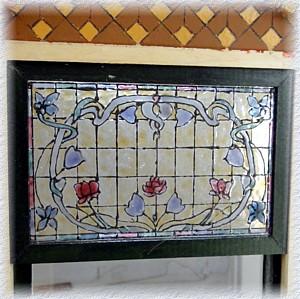 Poes poppenhuis workshop glas in lood ramen voor het 1 12 poppenhuis for Verwijderbaar glas